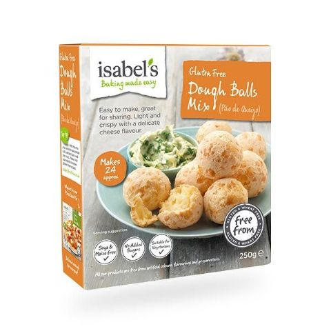 Isabel's Gluten Free Dough Balls Mix 250g